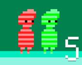 Зеленый и красный 5