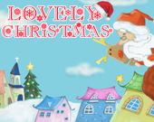 Милое Рождество: собери пазлы