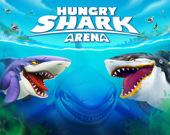 Арена с голодной акулой