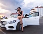 Пазл: Девушки и автомобили