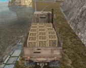 За рулем армейского грузовика