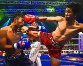 Бойцы тайского бокса - Пазл