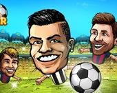 Подбери марионеток: футбол головами