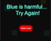 Избегай голубого
