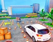 Симулятор вождения в современном городе 3D