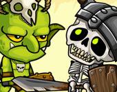 Гоблины против скелетов