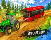Гусеничный трактор: Помощь в буксировке