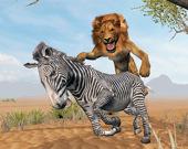 Симулятор Короля Льва: Охота На Диких Животных