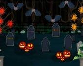 Хэллоуин на кладбище