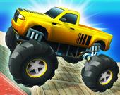 Трюки на Monster Truck