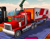 Невероятный симулятор грузовика 3D