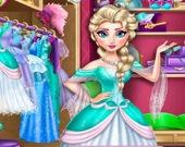 Наряд ледяной принцессы Эльзы