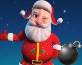 Санта с бомбой 3D