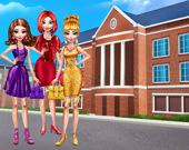 Девушки в колледже