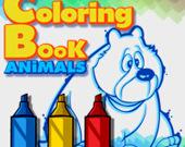 Книжки-Раскраска: Животные