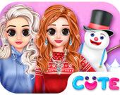 Принцессы: Зимний стиль