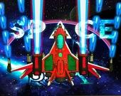 Бесконечный космический галактический шутер 2D