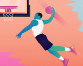 Пазл: Герой баскетбола