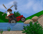 Триал на тракторе
