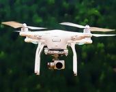 Летящий дрон - Пазл