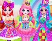 Принцесса-Сладкая конфета: Косплей