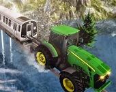 Трудная работа - Трактор-тягач