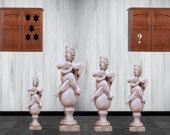 Побег из дома со скульптурами
