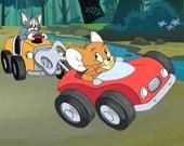 Пазл Машинки Тома и Джерри