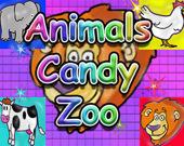 Зоопарк: Леденцы в виде животных