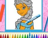 Раскраска: Принцессы-сёстры