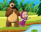 Маша и медведь -  Пазл