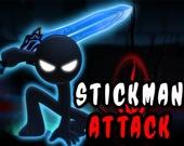 Стикман атакует