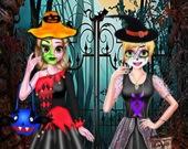 Наряды для сестер на Хэллоуин
