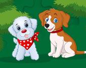 Пазл: Милые щеночки