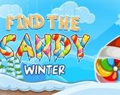 Найди зимнюю конфетку