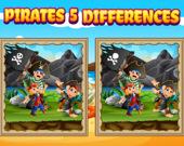 Найдите пять отличий: Пираты