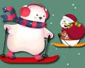 Лыжное Рождество