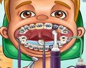 В клинике у дантиста-хирурга