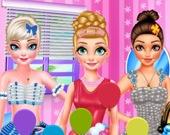 Принцессы на фестивале шаров