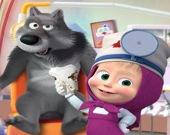 Маша и медведь - у дантиста