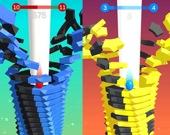 Прыжки по башне 3D