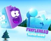 Ледяная пурпурная голова