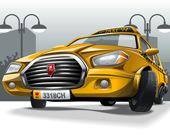 Столица автомобилей: соедени 3 предмета