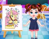 Малышка Тейлор: Класс рисования