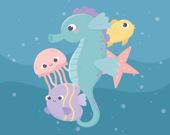 Очаровательная рыбка на память