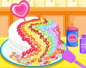 Приготовление конфетного торта