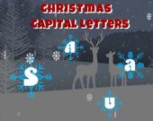 Рождественские заглавные буквы