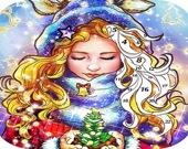 Раскрась Рождество