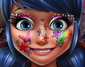 Блестящий макияж Леди Баг