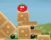 Катящийся помидор